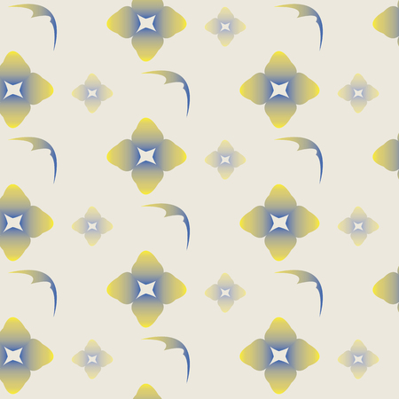 abstract floral: abstract floral pattern, vector illustration