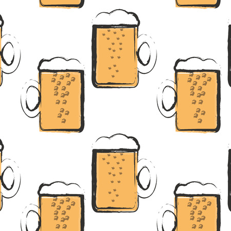 frothy: mug of frothy beer with bubbles