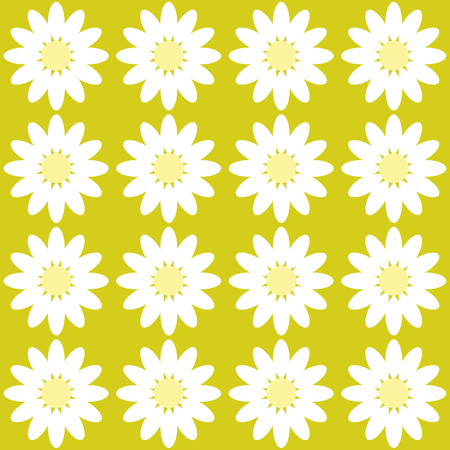 chamomile flower: color pattern Daisy flower chamomile