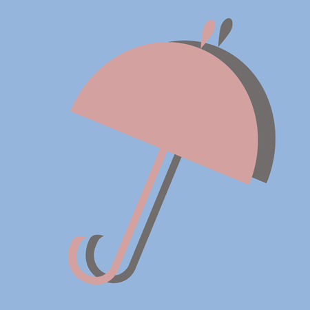 refuge: picture of the umbrella device from rain
