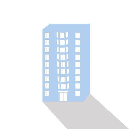 storey: nine storey tenement house with windows