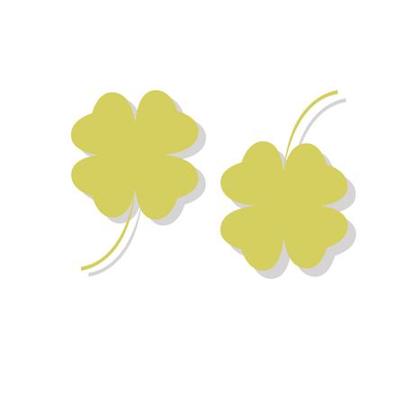 lucky clover: green leaf grass plant clover
