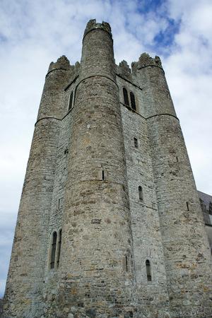 Norman tower.Lusk.Ireland.