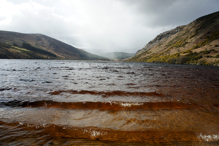 Lake Dan.Wicklow Mountains.Ireland.