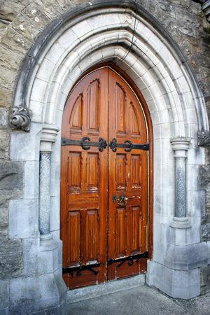 Lateral church door, Ireland.