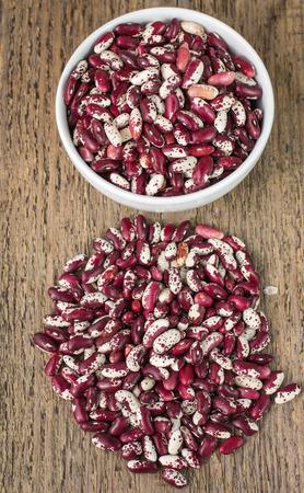 mottled: Dry mottled beans