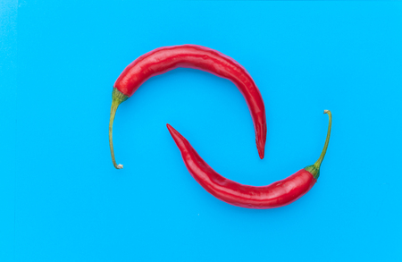 pop art red pepper Stock Photo