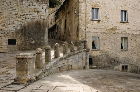 Old and beautiful state - San Marino, Europe. Stock Photo - 4814517