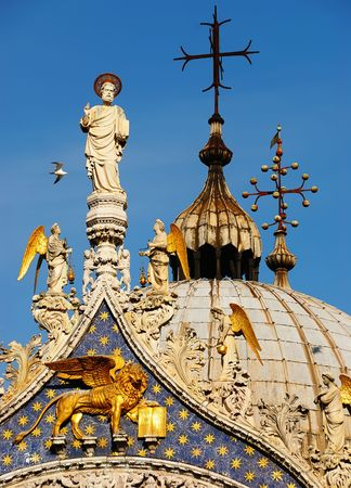 Details of Basilica Di San Marco in Venice, Italy Stock Photo - 5043657