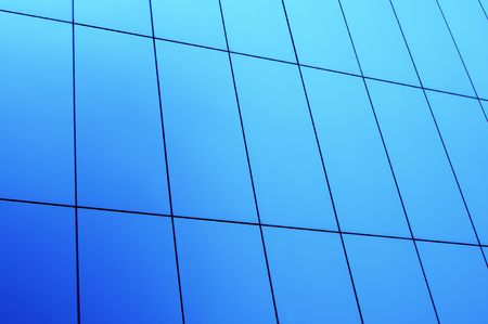 Abstract shot of office building wall. Can be used as background.