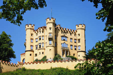 Hohenschwangau Castle (Castle of the High Swan County) is a 19th century castle in Bavaria, Germany.