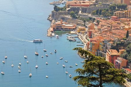 villefranche sur mer: The French Riviera resort of Villefranche sur Mer, near from Nice.