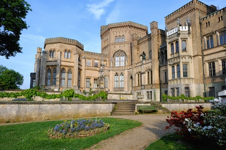 Babelsberg Palace in Potsdam, Germany.