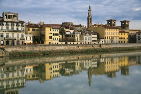 hause: embankment River Arno in Florence