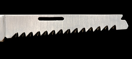 clasp knife: saw - blade in clasp knife Stock Photo