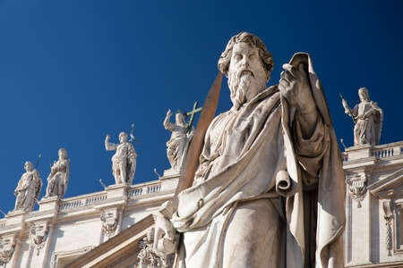 catholical: Statue of St.Peter in Vatican