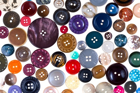 pattern from many different buttons photo
