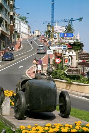 MONTE CARLO, MONACO - JULY 6: Monte Carlo street - part of road of The Monaco Formula 1 Grand Prix on July 6,2088 in Monte Carlo, Monaco Stock Photo - 9205681