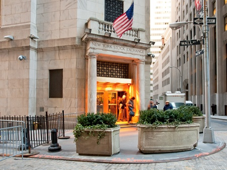 New York Stock Exchange in New York, USA on February 5, 2010