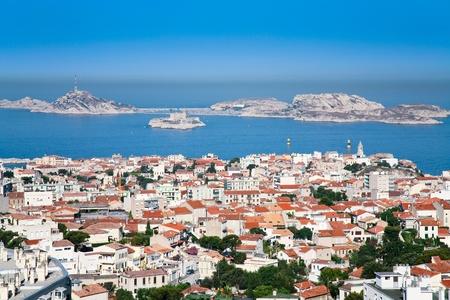 duma: view on Chateau dIf near Marseille, France