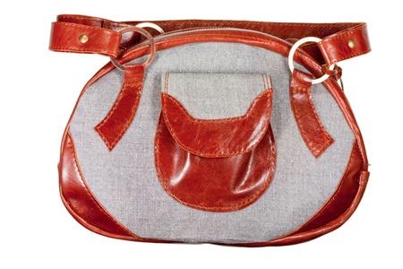 pochette: womans handbag Stock Photo