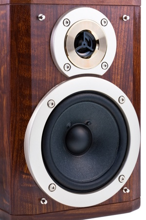 loudspeakers in wooden box Stock Photo - 9641487