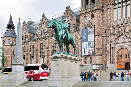 the Nordic Museum in Stockholm, Sweden on September 8, 2011 Stock Photo - 11025684