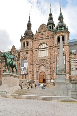 the Nordic Museum in Stockholm, Sweden on September 8, 2011 Stock Photo - 11025678