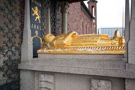 Birger Jarl Tomb at Stadshuset, Stockholm City Hall, Sweden Stock Photo - 11077324