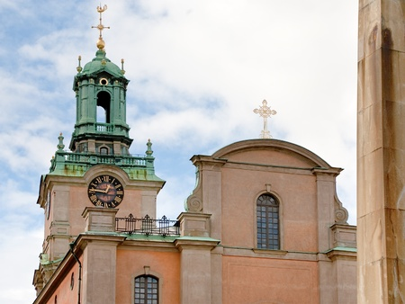 Storkyrkan - Stockholm Cathedral - the oldest oldest church in Gamla Stan, Sweden Stock Photo - 11138877