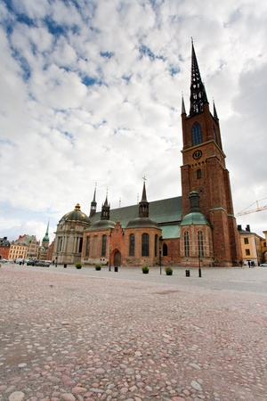 Riddarholmskyrkan - Knights church - in Stockholm, Sweden Stock Photo - 11396718