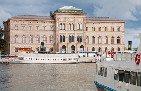 view on National Museum of Fine Arts, Stockholm, Sweden Stock Photo - 11390128