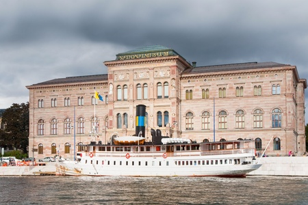 fine arts: view on National Museum of Fine Arts, Stockholm, Sweden