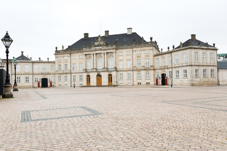 Moltkes Palace -the first mansion that was acquired as a Royal residence by Danish King