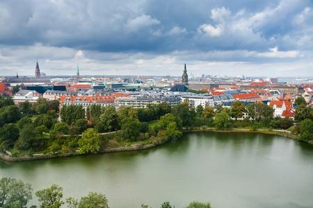 above view on center of Copenhagen, Denmark Stock Photo - 11848600