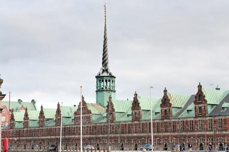 The Stock Exchange building on Slotsholmen in central Copenhagen,Denmark Stock Photo - 11848572
