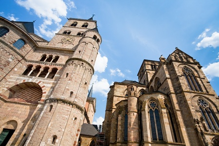 Liebfrauenkirche - one from oldest Gothic church, Trier, Germany Stock Photo - 12415162