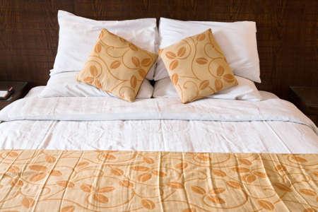 double bed in bedroom Stock Photo - 12818461