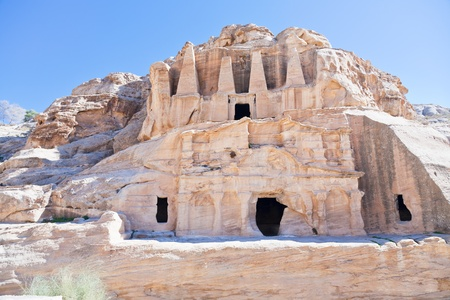 bab: The Obelisk Tomb and Bab as-Siq Triclinium in Petra, Jordan