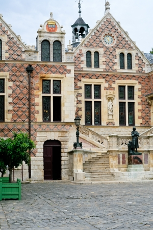 renaissance house - mansion Groslo in Orleans, France