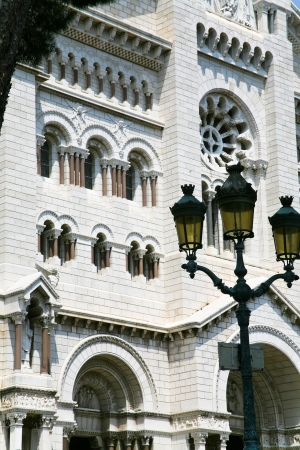 Saint Nicholas Cathedral in Monaco in summer day photo