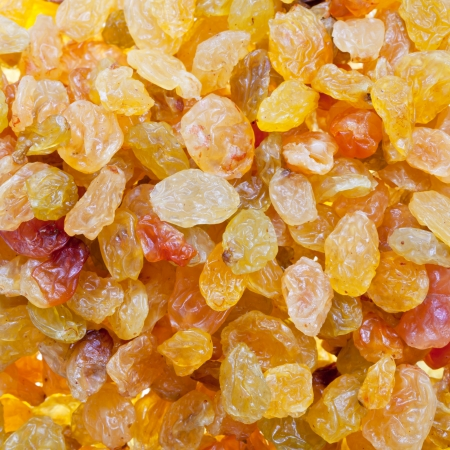 sultana: sultana raisins background close up