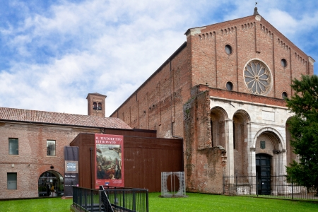 hermits: PADUA, ITALY - NOVEMBER 1: Musei civici degli Eremitani - Civic Museum of the Hermits. Since 1985 museum is housed in the cloisters of convent of Friars Hermits in Padua, Italy on November 1, 2012 Editorial