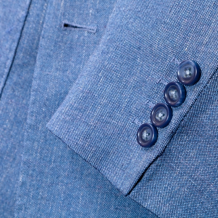 tailor background - fragment of blue silk men's suit close up Stock Photo - 17166753