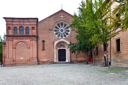catholicity: Basilica of San Domenico - historical Dominican church, Bologna, Italy Stock Photo