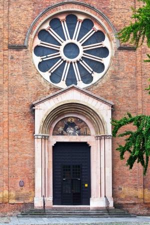 catholicity: facade of Basilica of San Domenico in Bologna, Italy