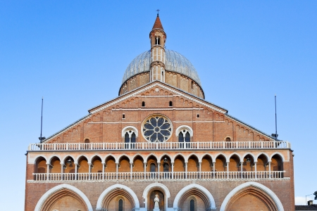 front view of Basilica di Sant Antonio da Padova, in Padua, Ital Stock Photo - 17849084