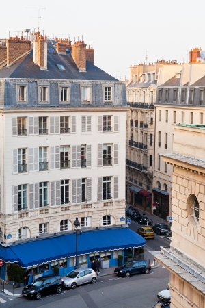above view on Odeon square in Paris Stock Photo - 18699221