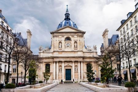 chapelle de la sorbonne. Place De La Sorbonne In Paris, France Chapelle