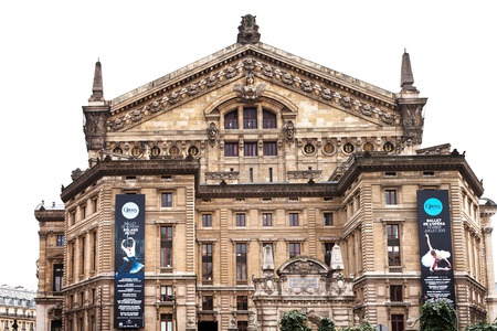 academie: PARIS, FRANCE - MARCH 5: Opera House. Paris Opera was founded in 1669 by Louis XIV as the Academie d Opera, in Paris, France on March 5, 2013